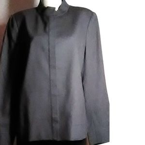 Kasper Kasper  & Company Dk Gray Wool Blazer